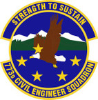 STICKER USAF 773rd Civil Engineer Squadron Emblem