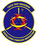 STICKER USAF 746TH TEST SQUADRON