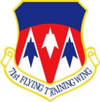 STICKER USAF 71ST FLYING TRAINING WING