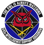 STICKER USAF 693rd Intelligence Squadron Emblem