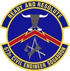 STICKER USAF 673rd Civil Engineer Squadron Emblem