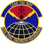 STICKER USAF 633rd Civil Engineer Squadron Emblem