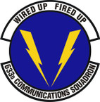 STICKER USAF 633rd Communications Squadron Emblem