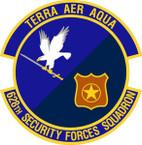 STICKER USAF 628th Security Forces Squadron Emblem