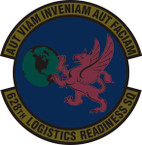 STICKER USAF 628th Logistics Readiness Squadron Emblem