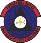 STICKER USAF 607th Air Support Squadron Emblem