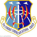 STICKER USAF 5th Combat Communications Group