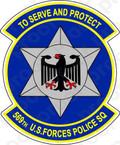 STICKER USAF 569TH U.S. FORCES POLICE SQUADRON