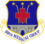 STICKER USAF 559th Medical Group Emblem