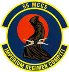 STICKER USAF 55th Command and Control Squadron