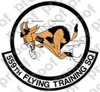 STICKER USAF 559TH FLYING TRAINING SQUADRON