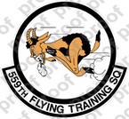 STICKER USAF 559TH FLYING TRAINING SQUADRON