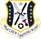STICKER USAF 542ND COMBAT SUSTAINMENT WING