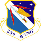 STICKER USAF 53RD WING