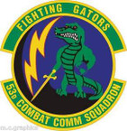 STICKER USAF 53rd Combat Communications Squadron Emblem