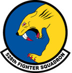 STICKER USAF 528TH FIGHTER SQUADRON DECAL