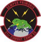 STICKER USAF 51st Combat Communications Squadron Emblem