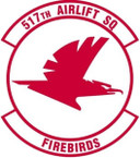 STICKER USAF 517TH AIRLIFT SQUADRON