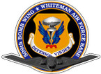 STICKER USAF 509TH WHITEMAN BOMB WING