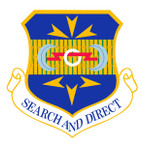 STICKER USAF 505th Command and Control Wing Emblem