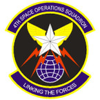 STICKER USAF 4TH SPACE OPERATIONS SQUADRON