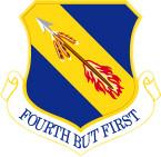STICKER USAF 4TH FIGHTER WING