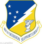 STICKER USAF 49TH MISSION SUPPORT GROUP