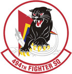 STICKER USAF 494TH FIGHTER SQUADRON