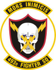 STICKER USAF 493RD FIGHTER SQUADRON