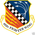 STICKER USAF 482ND FIGHTER WING