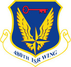 STICKER USAF 480TH ISR WING
