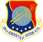STICKER USAF 478TH AERONAUTICAL SYSTEMS WING