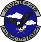 STICKER USAF 461st Maintenance Squadron Emblem