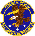STICKER USAF 461st Aircraft Maintenance Squadron Emblem