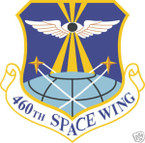STICKER USAF 460TH SPACE WING