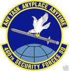 STICKER USAF 460TH SECURITY FORCES SQUADRON