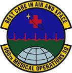 STICKER USAF 460th Medical Operations Squadron Emblem