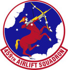 STICKER USAF 459th Airlift Squadron Emblem