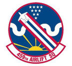 STICKER USAF 459TH AIRLIFT SQUADRON