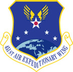 STICKER USAF 451ST AIR EXPEDITIONARY WING