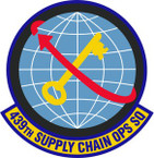 STICKER USAF 439th Supply Chain Operations Squadron Emblem