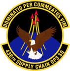 STICKER USAF 438th Supply Chain Operations Squadron Emblem