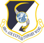 STICKER USAF 438TH AIR EXPEDITIONARY WING