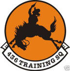 STICKER USAF 436TH TRAINING SQUADRON