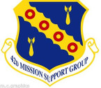 STICKER USAF 42ND MISSION SUPPORT GROUP