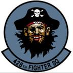 STICKER USAF 428TH FIGHTER SQUADRON