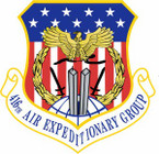 STICKER USAF 416th Air Expeditionary Group