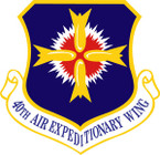STICKER USAF 40TH AIR EXPEDITIONARY WING