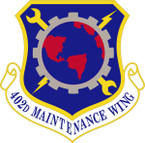 STICKER USAF 402ND MAINTENANCE WING