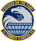 STICKER USAF 3RD COMBAT CAMERA SQUADRON